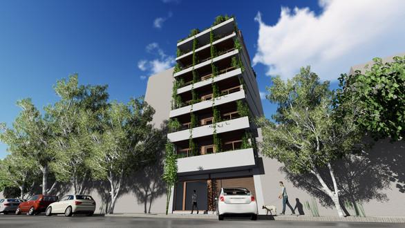 Edificio Sustentable Prosumer T1