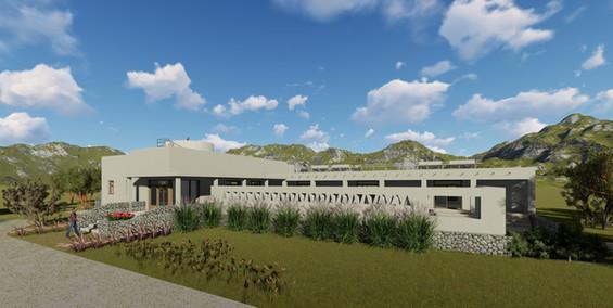 Hostel de Sustentable de Adobe en Cachi-Salta