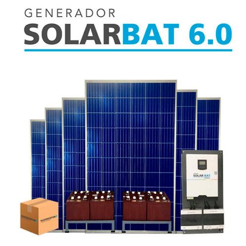 KIT FOTOVOLTAICO SOLARBAT 6.0 (Con baterias)