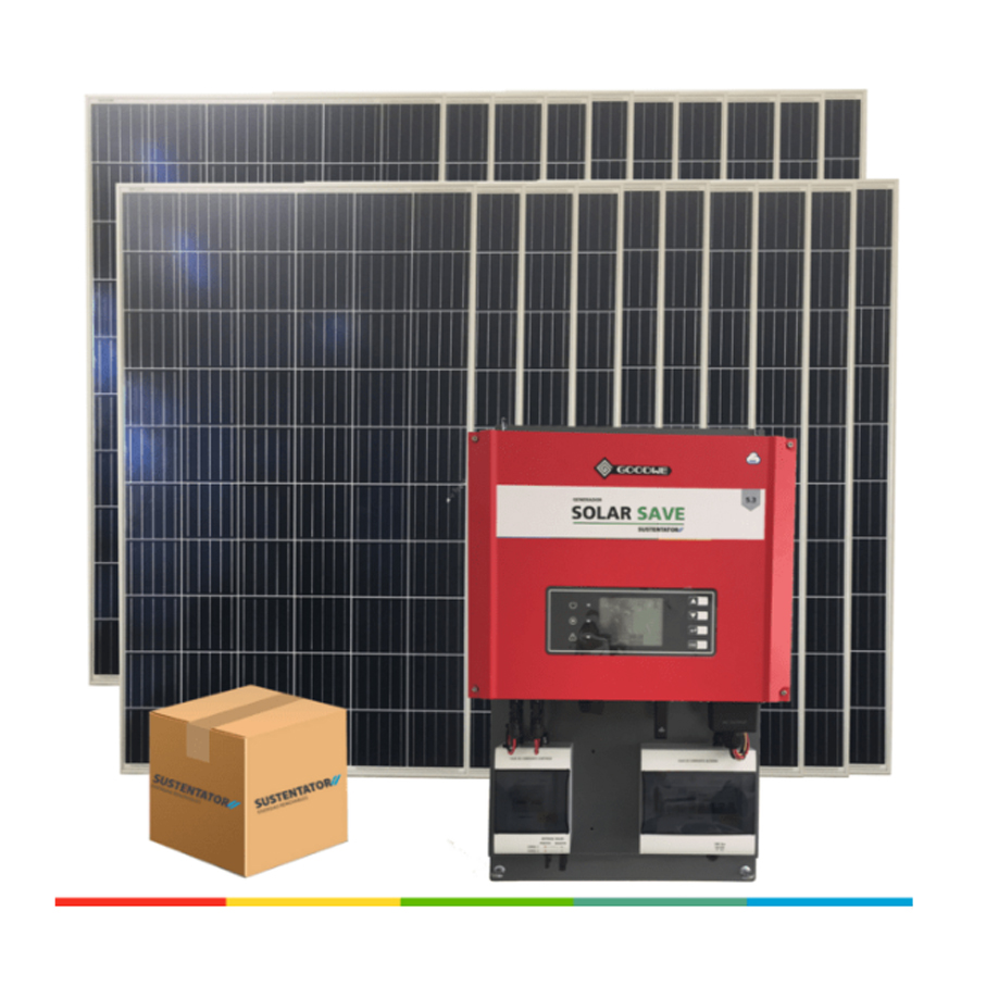 Kits fotovoltaicos On-Grid