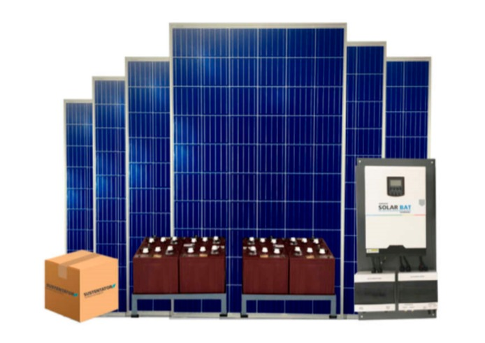 Kits fotovoltaicos Off-Grid