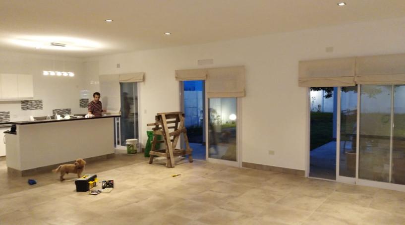Interior planta baja finalizado