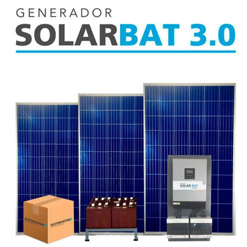 KIT FOTOVOLTAICO SOLARBAT 3.0 (Con Baterias)
