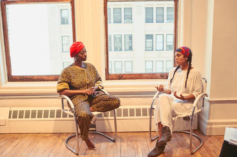 Dominique interviews Suanny Upegui, founder of Casa Finca
