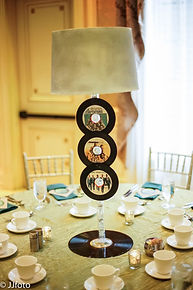 handmade centerpieces temptations themed birthday party