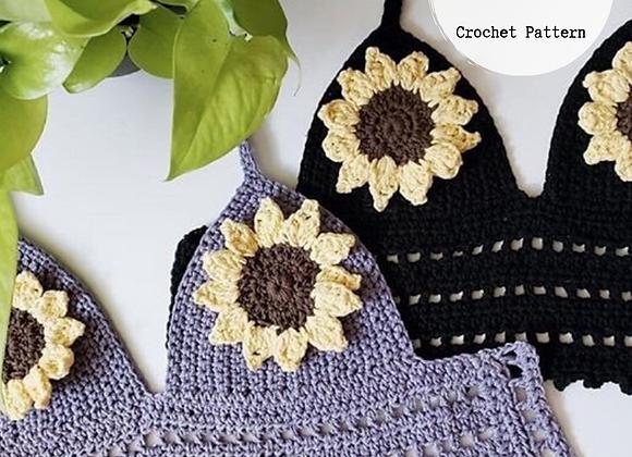 Wanderlust Top ~ Crochet Pattern