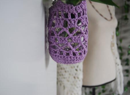 Boho Plant Hanger-  FREE Pattern