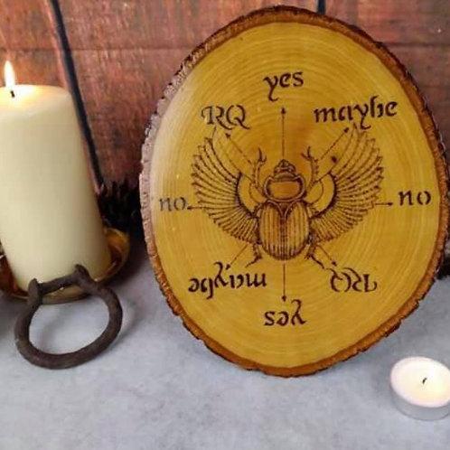 Spirit Board: Featuring a scarab