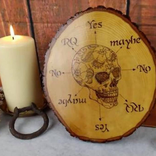 Spirit Board: Featuring a sugar skull