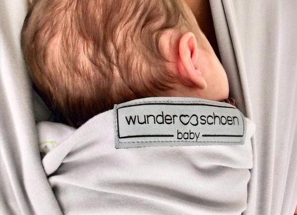 Wunderschoen Baby Wrap® / pure cloud / ein weicher Grauton