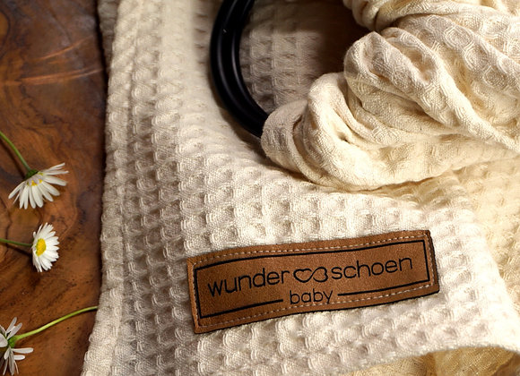Wunderschoen Baby® Ring Sling - pure love nature -