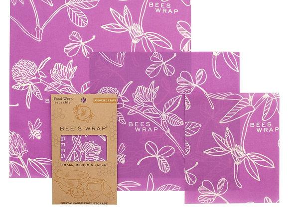 BEE´S Wrap 3er Set - Mimi´s Purple -