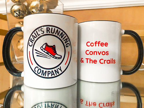 Coffee, Convo's & The Crails Mug