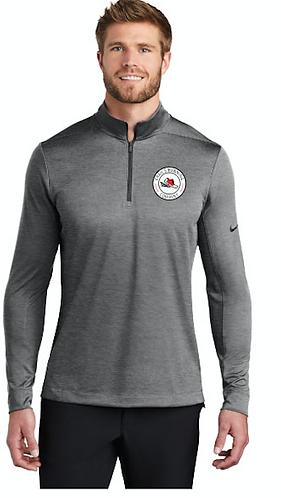 Gray Nike Qrt  Zip