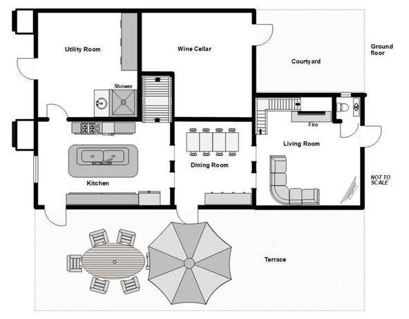 Casalone ground floor