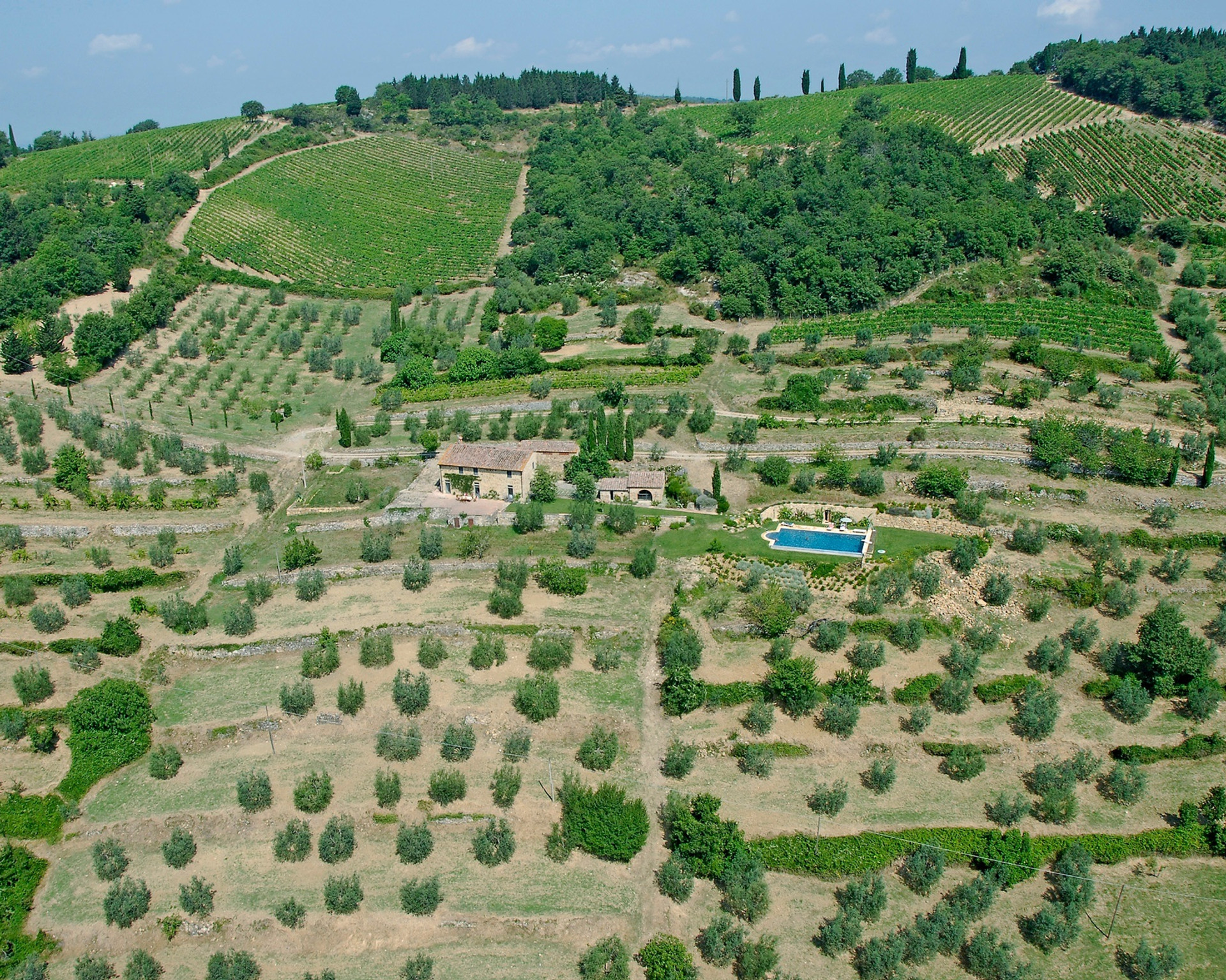 Aerial view of Casalone
