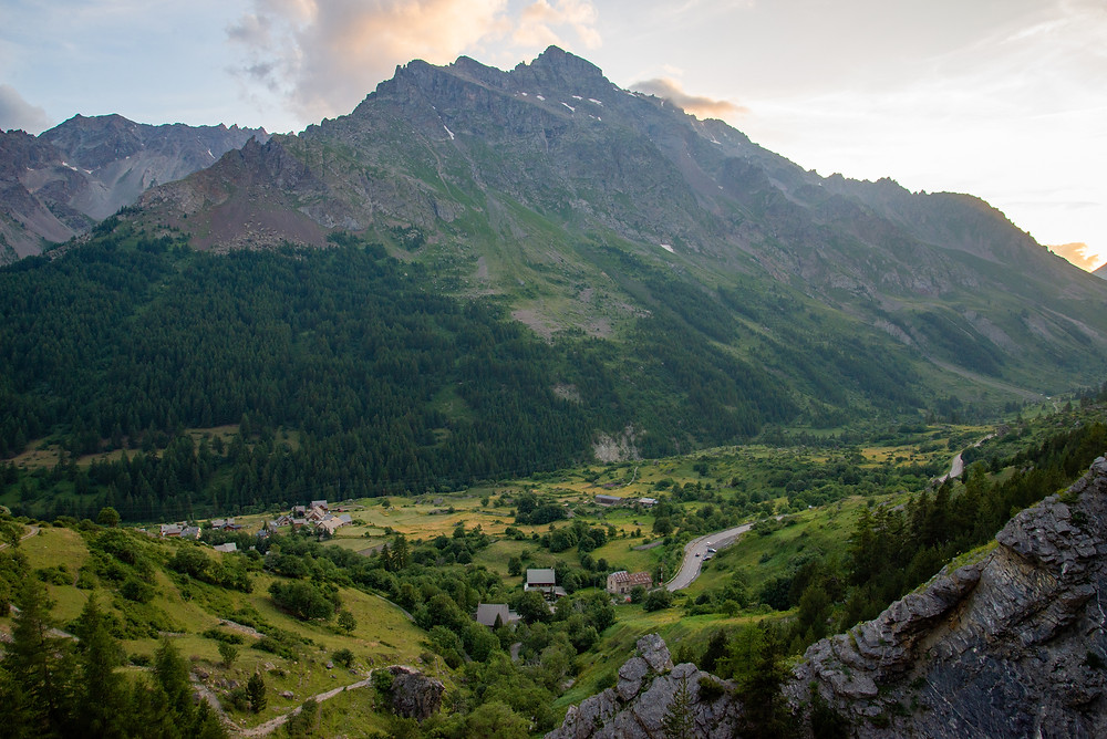 A small village in the French Alps.
