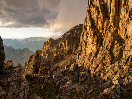 A Dramatic Sunset in the Indian Peaks Wilderness, CO