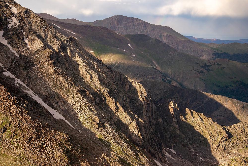 Mummy Mountain in Rocky Mountain National Park in Colorado.