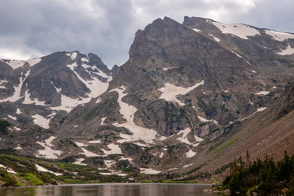 Shoshoni Peak Indian Peaks wilderness Colorado.