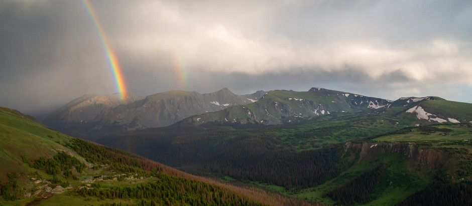 Two Days, Two Hikes in Rocky Mountain National Park: Part II - Chiquita + the Rainbow