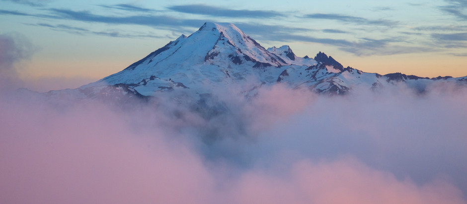 Above the Clouds in the Mount Baker Wilderness, WA