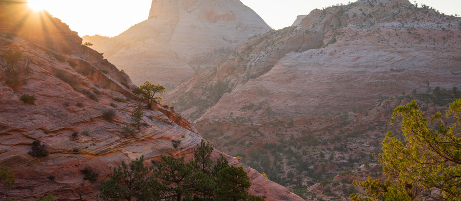 Escaping the Smoke in Zion + Capitol Reef, UT