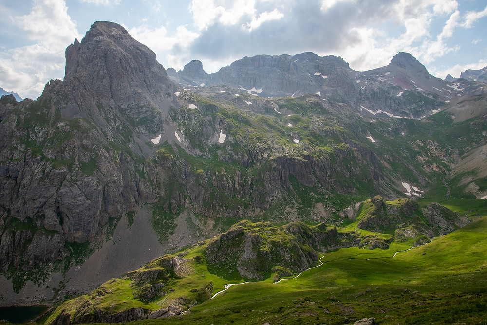 Massif des Cerces in the Alps of France.