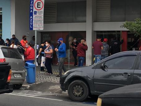 Santander de Votorantim está sobrecarregado por folha de pagamento da prefeitura