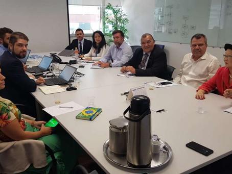 Reunião do Conselho Consultivo da CONTEC no Saúde Caixa