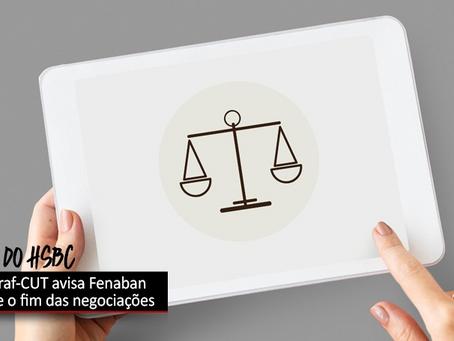 Movimento sindical avisa Fenaban sobre o fim das negociações pela PLR do HSBC