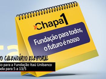 Eleição da Fundação Itaú Unibanco é adiada para o mês de maio
