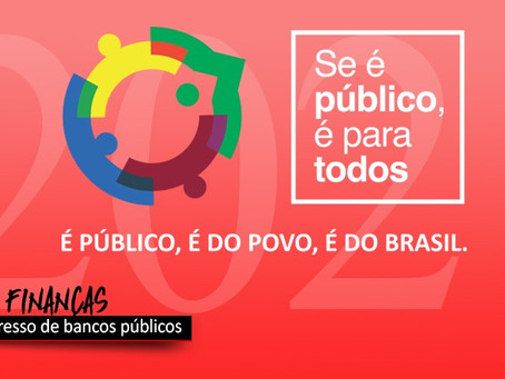 Congresso Internacional de Bancos Públicos será dia 12