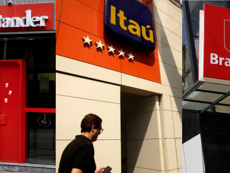 Bradesco, Itaú e Santander vão comprar 5 milhões de testes de Covid-19