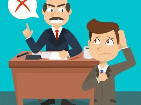 60% dos trabalhadores já tiveram problemas com chefes, diz estudo