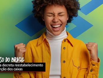 Movimento sindical pede e justiça decreta reestabelecimento da função de caixa em todo o Brasil