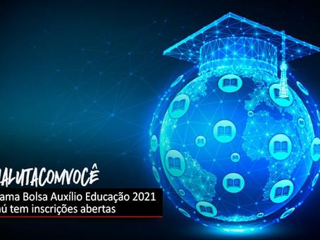 Programa Bolsa Auxílio Educação 2021 do Itaú tem inscrições abertas