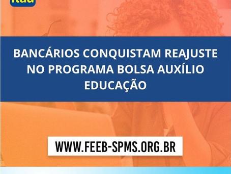 COE Itaú conquista reajuste no Programa Bolsa Auxílio Educação