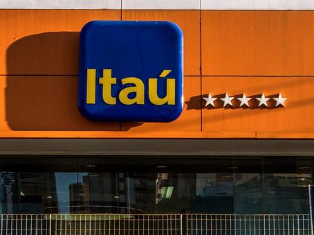 Itaú lucra R$ 3,42 bilhões no segundo trimestre, queda de quase 50%