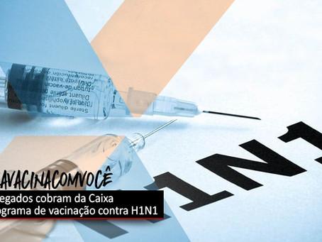 CEE cobra da Caixa o cronograma de vacinação contra H1N1