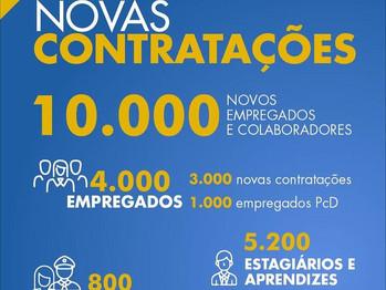 CAIXA anuncia contratação de mais quatro mil empregados