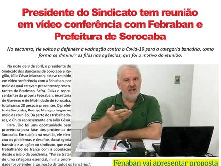 FRENTE BANCÁRIA - 16 A 23 DE ABRIL