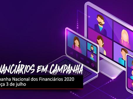 Campanha Nacional dos Financiários 2020 começa em 3 de julho