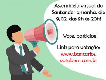 Assembleia do Santander - 9/02