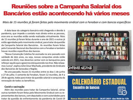 FRENTE BANCÁRIA - 30/07 A 06/08