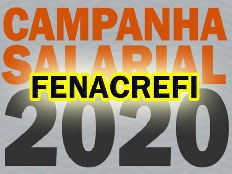 Financiários rejeitam proposta da Fenacrefi