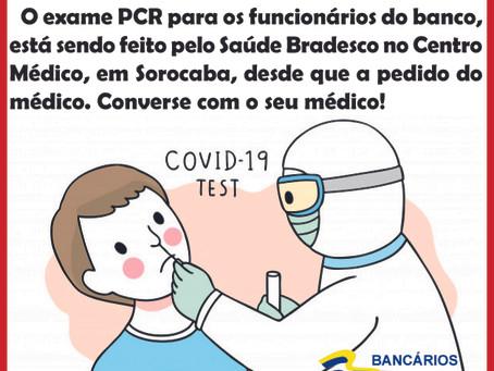 Exame PCR Bradesco