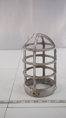 """Explosion Proof Light Fixture Globe Cage - 3.75"""" Fitting"""