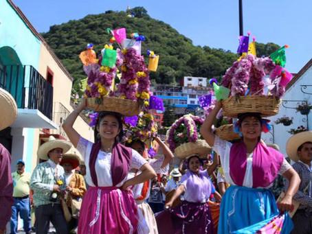 Con fiesta y colorido inicia el Atlixcayotontli, la fiesta chica de Atlixco