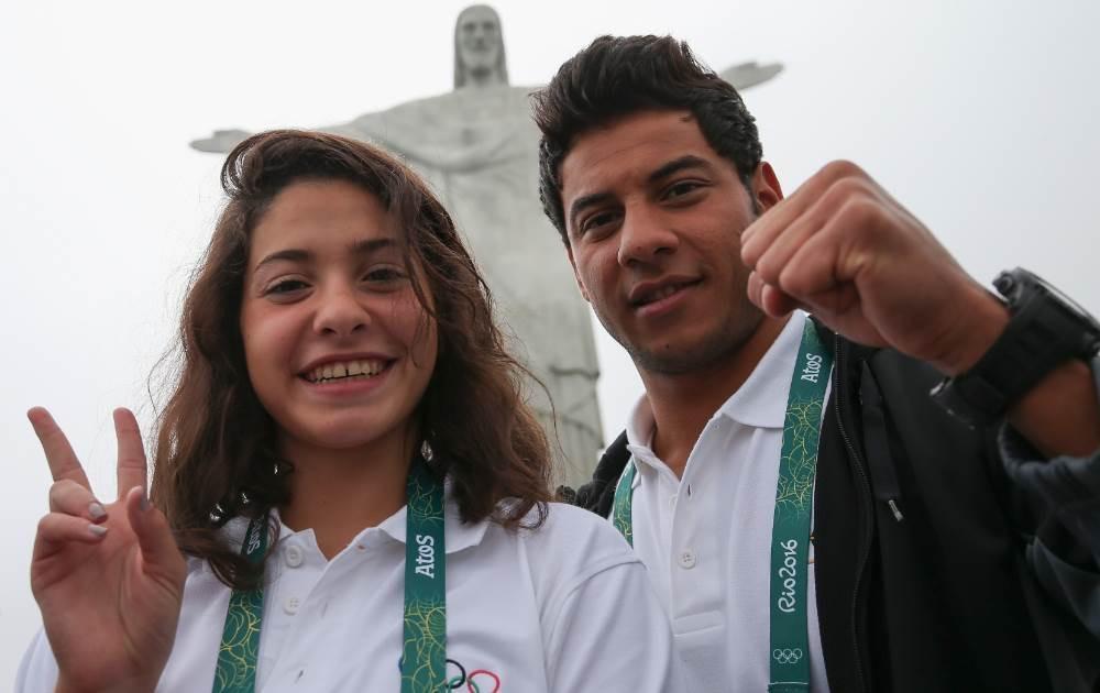 Los 10 atletas de la delegación internacional de refugiados en Rio 2016 representan muchas cosas